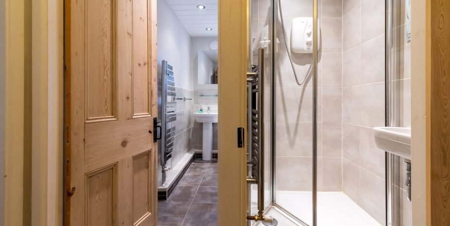 Family bathroom and separate shower room