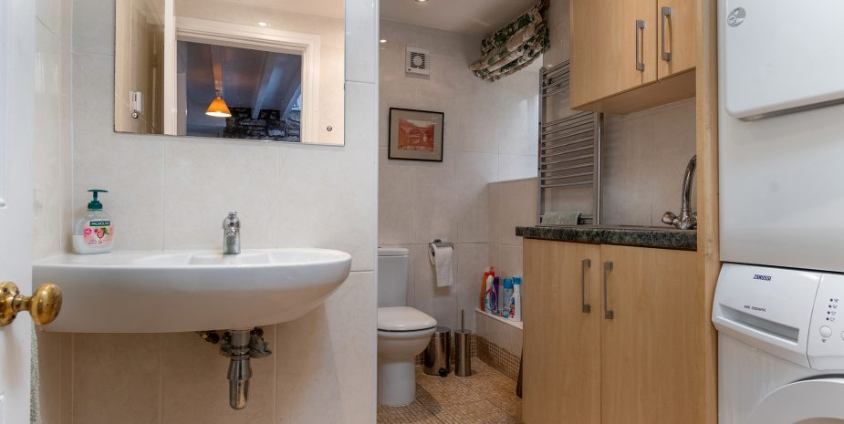 Downstairs shower/utility room