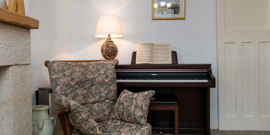 Piano that likes to be played!